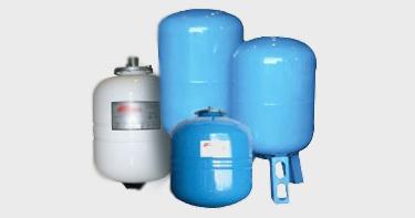 Мембранные баки для водоснабжения (холодного/горячего)