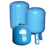 Мембранный бак для холодной воды IBO 100л  верт/гор.
