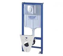 Инсталляция GROHE Rapid SL 38750 в комплекте с кнопкой