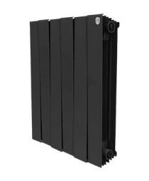 Биметаллический радиатор Royal Thermo PianoForte (черный)