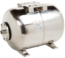 Мембранный бак для холодной воды IBO 24л нержавеющая сталь