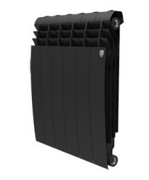 Биметаллический радиатор Royal Thermo BiLiner 500 (черный)