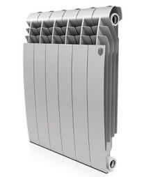 Биметаллический радиатор Royal Thermo BiLiner 500 (серебристый)