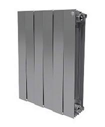 Биметаллический радиатор Royal Thermo PianoForte (серебристый)