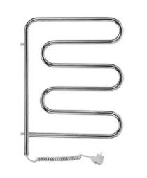 Электрический полотенцесушитель (змеевик) Ш-образной формы поворотный